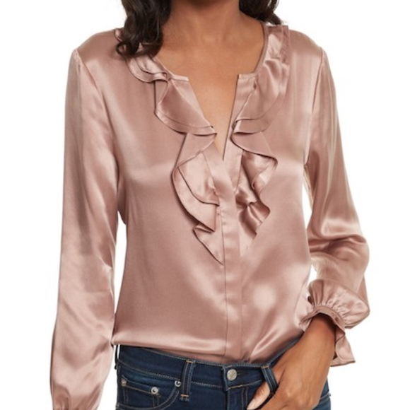 d112e3847a426a JOIE JAYANNE B SILK BLOUSE  FINAL DROP